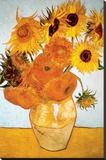 Solsikker, ca. 1888 Lærredstryk på blindramme af Vincent van Gogh