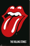 Rolling Stones - Lips Stretched Canvas Print