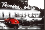 Rosie's Diner Stretched Canvas Print