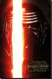 Star Wars The Force Awakens- Kylo Ren Teaser Stretched Canvas Print