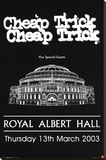 Cheap Trick Royal Albert Hall Music Poster Print Stretched Canvas Print