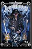 Motorhead- In Memory Of Lemmy Bedruckte aufgespannte Leinwand