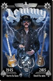 Motorhead- In Memory Of Lemmy Stretched Canvas Print