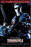 Terminator 2 Stretched Canvas Print