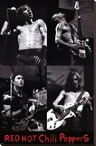 Red Hot Chili Peppers Stretched Canvas Print
