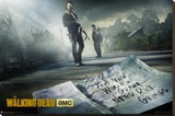 The Walking Dead - Season 5 Stretched Canvas Print