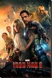 Iron Man 3 (One Sheet)  Opspændt lærredstryk