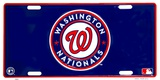 Washington Nationals Tin Sign