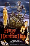 House on Haunted Hill (Vincent Price) Stretched Canvas Print