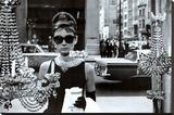 Audrey Hepburn Sträckt kanvastryck