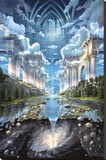 John Stephens (Genesis II) Art Poster Print Stretched Canvas Print