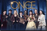 Once Upon A Time - Cast Stretched Canvas Print
