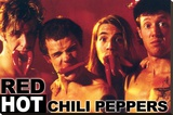 Red Hot Chili Peppers- Peppers Stretched Canvas Print