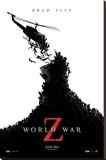 World War Z Movie Poster Stretched Canvas Print