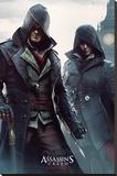 Assassins Creed Syndicate- Gang Members Stampa su tela