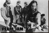 Pearl Jam- Street Stretched Canvas Print