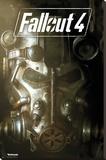 Fallout 4- Mask Lærredstryk på blindramme