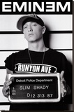 Eminem (Mugshot) Stretched Canvas Print