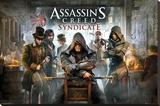 Assassins Creed Syndicate- Pub Stampa su tela