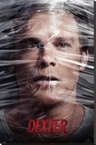 Dexter - Shrinkwrapped TV Poster Stretched Canvas Print