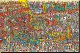 Where'S Wally (Toys, Toys, Toys) Reproducción en lienzo de la lámina