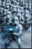 Star Wars - Stormtroopers - Şasili Gerilmiş Tuvale Reprodüksiyon