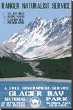 Glacier Bay Stretched Canvas Print