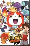 Yo-Kai Watch- Cast Stretched Canvas Print