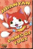 Yo-Kai Watch- Paws Of Fury Stretched Canvas Print