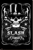 Slash - Label Stretched Canvas Print