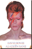 David Bowie- Aladdin Sane Stretched Canvas Print