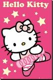 Hello Kitty - Dancer - Şasili Gerilmiş Tuvale Reprodüksiyon