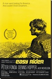 Easy Rider Stretched Canvas Print
