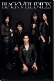 Black Veil Brides Stretched Canvas Print