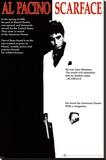 Yaralı Yüz, Film, Tek sayfa - Şasili Gerilmiş Tuvale Reprodüksiyon
