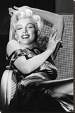 Marilyn Monroe - Reclining Movie Poster Stretched Canvas Print