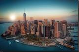 New York Freedom Tower - Manhattan Lærredstryk på blindramme