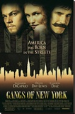 Gangs of New York - One Sheet Movie Poster Stretched Canvas Print