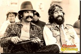 Cheech & Chong- Chill Stretched Canvas Print