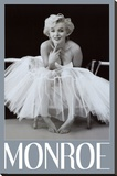 Marilyn Monroe Stretched Canvas Print by Milton H. Greene