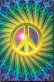 Mo' Peace Stretched Canvas Print