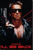 The Terminator - I'll Be Back Lærredstryk på blindramme