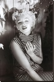 Marilyn Monroe (Cigarette) Movie Poster Print Stretched Canvas Print