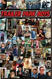 Trailer Park Boys- Collage Stretched Canvas Print