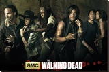 Walking Dead - Season 5 Stretched Canvas Print