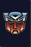 Transformers Autobot Logo Stretched Canvas Print
