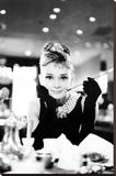 Audrey Hepburn - Şasili Gerilmiş Tuvale Reprodüksiyon