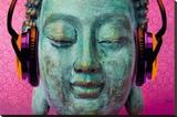 Michael Tarin - buddha music chill Lærredstryk på blindramme