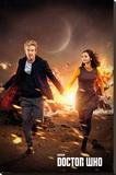 Doctor Who- Run Lærredstryk på blindramme