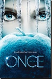 Once Upon A Time - Frozen Stretched Canvas Print
